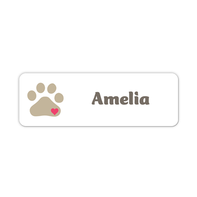1 x 3 Name Tag - Custom
